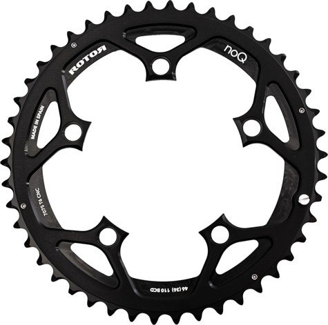 ROTOR(ローター) NOQ OUTER Road Chainring Compact 110PCD [Size: 53-50T] [並行輸入品] B06Y3W2YPD 53T-Outer