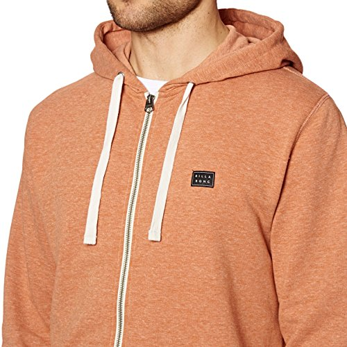 Arancione Zip All Day Uomo Felpa Billabong npYaEvqww