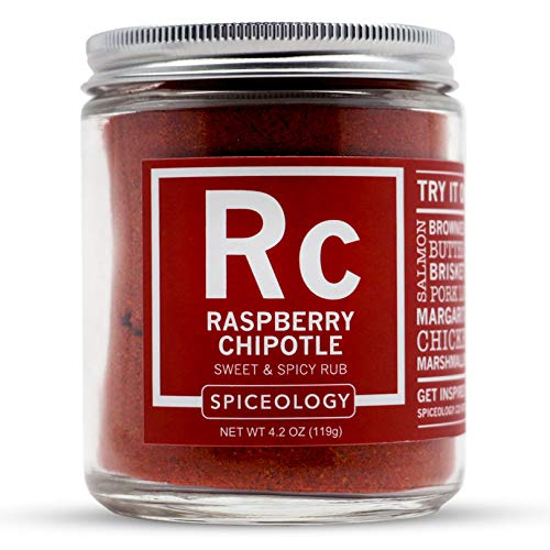Raspberry Chipotle - Spiceology Sweet and Spicy Rub - All-Purpose Seasoning - 4.2 ounces