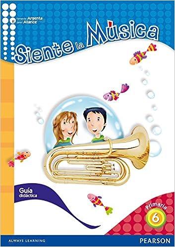 Book Siente la Música 6 Pack Guía Didáctica (Castellano)