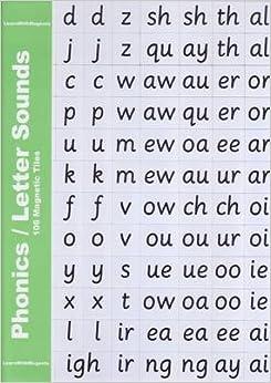 phonics letter sounds 106 magnetic tiles amazoncouk With magnetic letter tiles phonics
