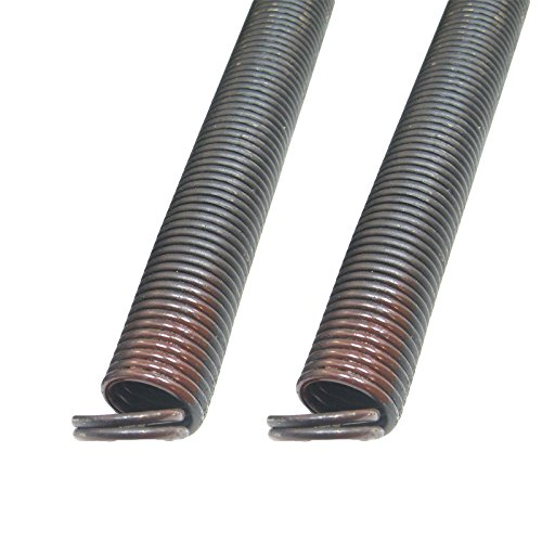 Garage Door Extension Spring for 7' High Door, 60 Pounds 25 42#60 Coded (Small Brown) (Pair)