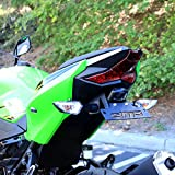 Ninja 400 2018 DMP Fender Eliminator Kit SLR For use with OEM Markers and Plate Lights - Made in the USA