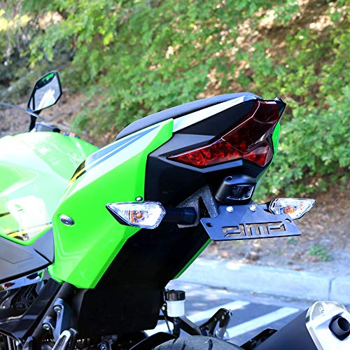 Ninja 400 2018 DMP Fender Eliminator Kit SLR For use with OEM Markers and Plate Lights - Made in the USA by DMP (Image #2)