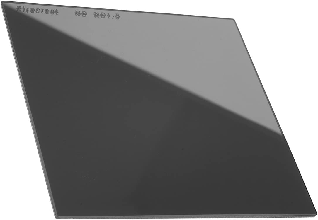 Firecrest ND 150x150mm 9 Stops 6x6 Neutral Density 2.7 filter for Lee SW150 compatible with all 150mm holders