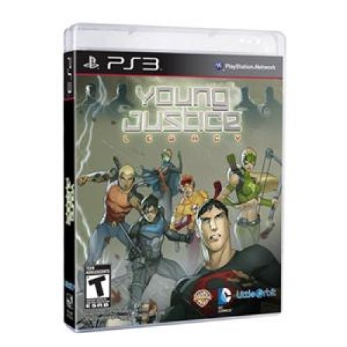 (MAJESCO #01015 Young Justice Legacy PS3)