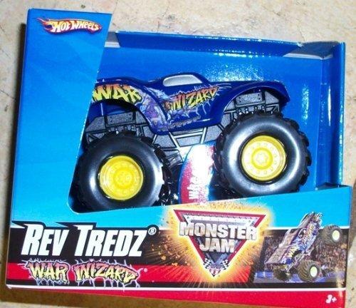 HOT WHEELS REV TREDZ MONSTER JAM WAR - Monster War Wizard Truck