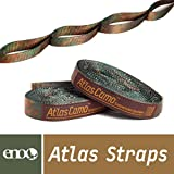 Agile but enduring, ENO Atlas Camo Hammock Straps boast a whopping 30 combined adjustment points to make an ultimate hammock suspension systems seen - or not seen - in a whole new light. ---About Eagles Nest Outfitters, Inc--- In the summer of 1999, ...