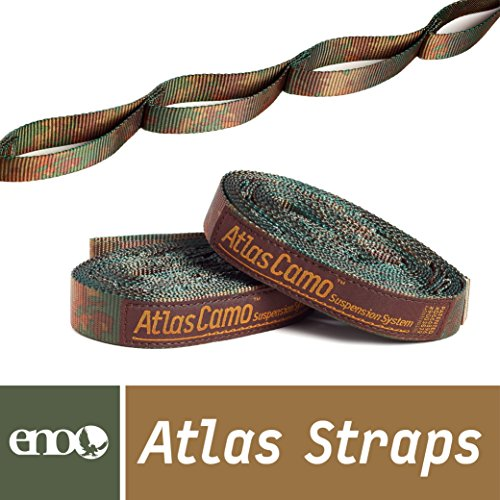 System Camo (ENO Eagles Nest Outfitters - Atlas Straps, Hammock Suspension System (Camo))