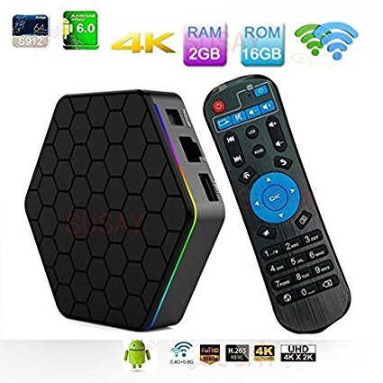 Amazon com: SUSAY T95Z Plus TV Box Android 7 1 Amlogic S912