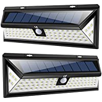 2 Pack Lighting EVER Solar Motion LED Security Light with Wide Angle Lighting