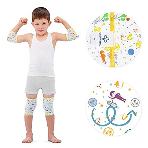 Eczema Relief Wrap Leg & Arm Sleeves for Moderate to Severe Eczema Treatment - Also Used as Wet Wraps - Baby & Kids