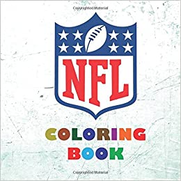 nfl coloring book 2017 2018 all 32 nfl american football team logos to color super childrens birthday gift present idea - Nfl Coloring Books