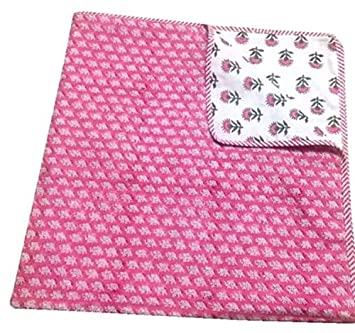 Amazon.com: Sofía Art – Colcha de tela hecha a mano para ...