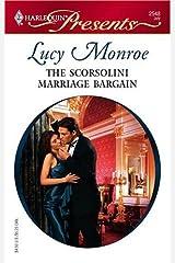 The Scorsolini Marriage Bargain (Royal Brides Book 5) Kindle Edition