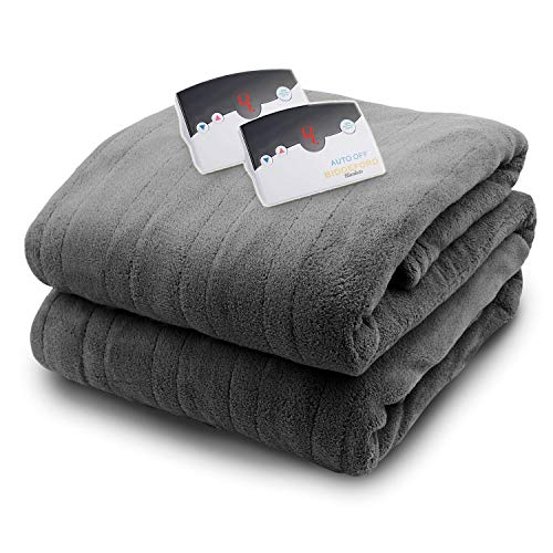 Biddeford Micro Plush Electric Heated Blankets/Digital Contr