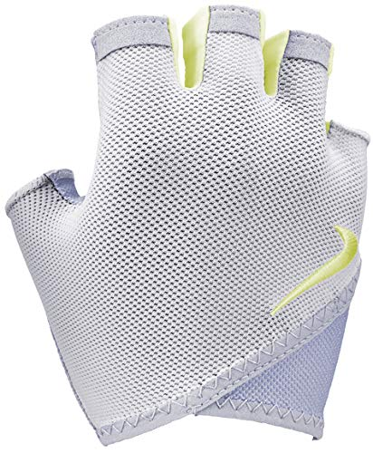 Nike Women's Gym Essential Fitness Gloves S Phantom/Wolf Grey/Luminous Green|077