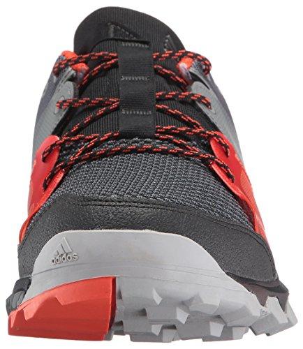 Adidas Outdoor Mannen Kanadia 8.1 Trail Hardloopschoen Zwart / Zwart / Energie