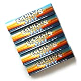 5 booklets - ELEMENTS King Size Slim Ultra Thin rice rolling paper