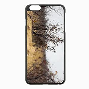iPhone 6 Plus Black Hardshell Case 5.5inch - africa Desin Images Protector Back Cover