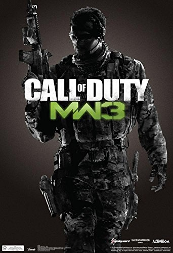Call Of Duty Modern Warfare 3 Video Game Poster 13 X 19In