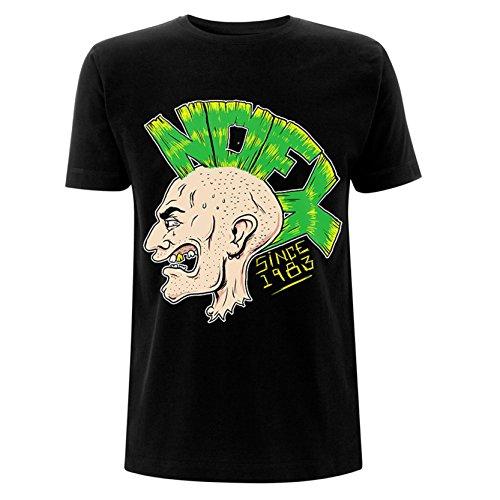 NOFX Mohawk Logo Punk Rock offiziell Männer T-Shirt Herren