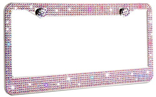 Crystal-License-Plate-Frame