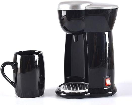 QWEASD Máquina De Café, Cafetera, 300W, Goteo Semiautomático ...