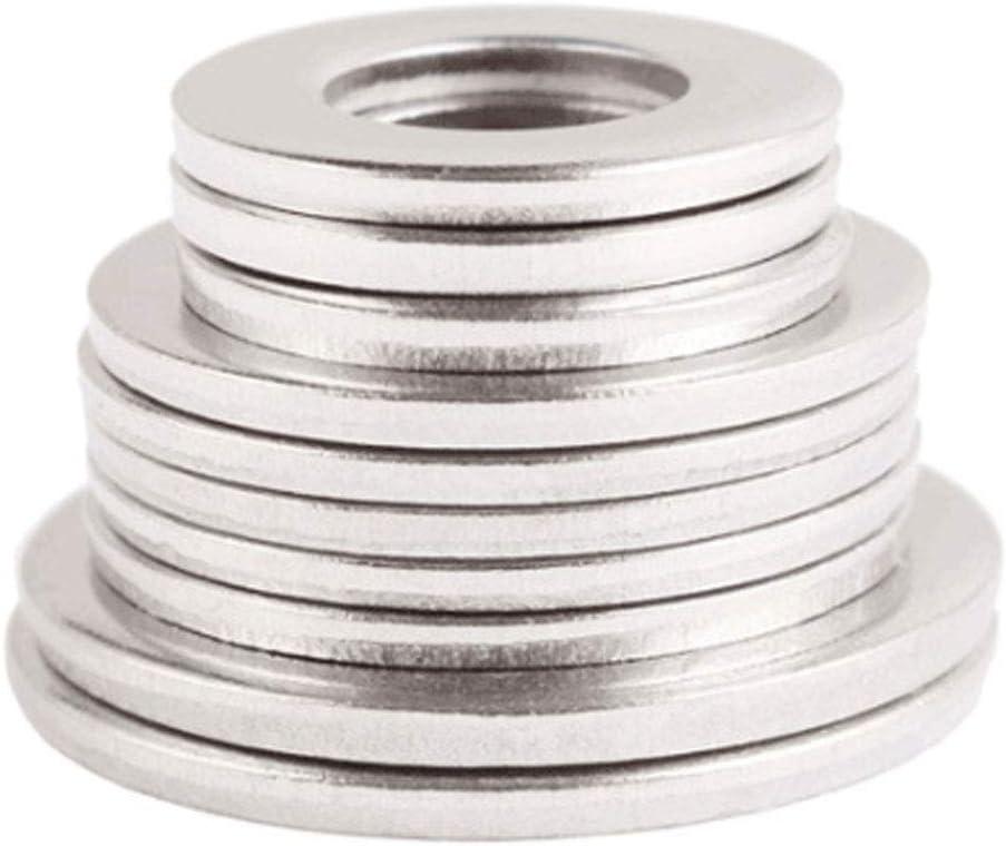 Acero Inoxidable 304 Arandelas de Metal Espaciadores Mes/ón M/áquina Sujetador Componentes M30 Yudesun Tornillos Arandelas Planas