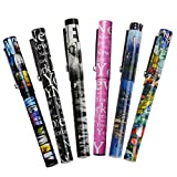 6X Various Unique Designs Ultimate Collectible New York City Ballpoint Pen NYC Gift Pen NY Souvenir Pens - Pack of 6