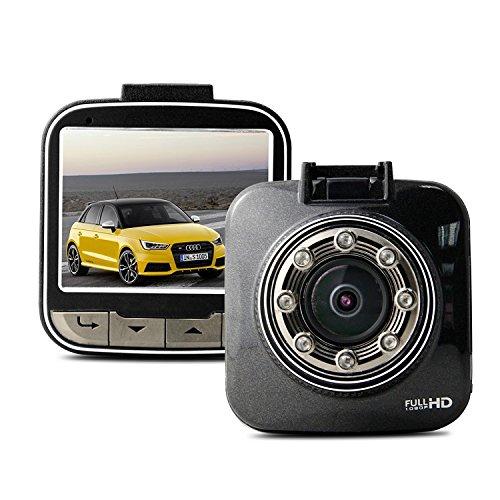 【国内正規品】SZABTO ドライブレコーダー 170°高画質広視野角1080P Full HD 200万画素LCD 動体検知センサー 常時録画 駐車監視 暗視機能 2.0画面のNT96658をベースに B07BQ2JX43