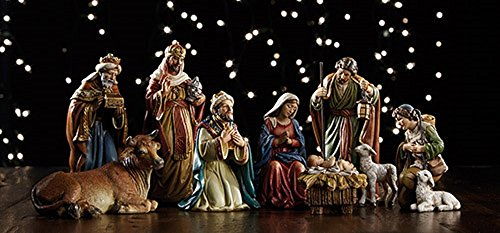 Michael Adams 9-piece 5'' Nativity Set by ML001