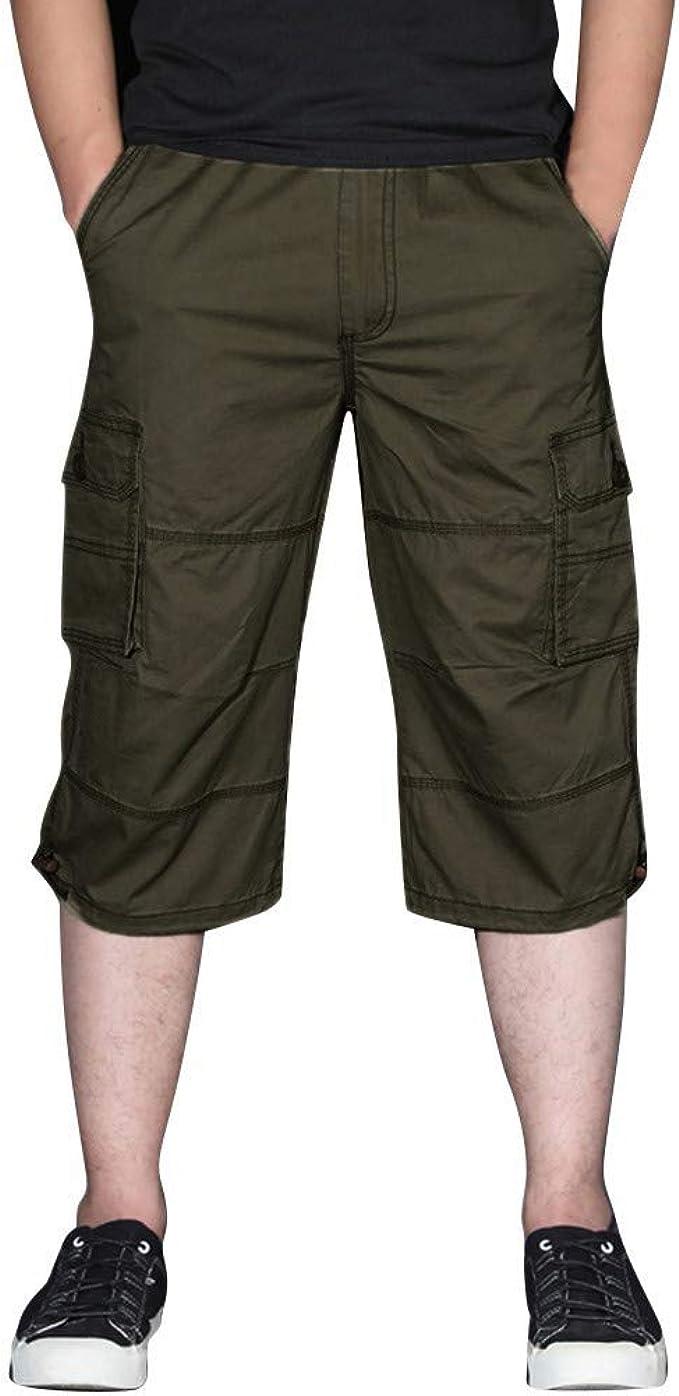 VPASS Pantalones Hombre Tallas Grandes Casuales Moda Trabajo ...