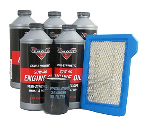Maintenance Series Oil Kit Filter (2006-2007 Victory Ness Signature Series Jackpot Oil and Air Maintenance Kit)