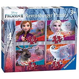 Ravensburger Frozen 2 Puzzle 4 In A Box Multicolore 03019
