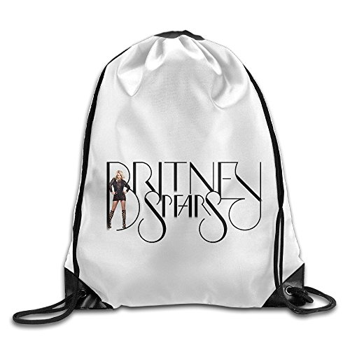 Private World Costume 2 War (Bekey Britney Spears Drawstring Backpack Sport Bag For Men & Women For Home Travel Storage Use Gym Traveling Shopping Sport Yoga)