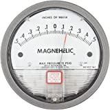 "Dwyer Magnehelic Series 2000 Differential Pressure Gauge, Range 0.5-0-0.5""WC"