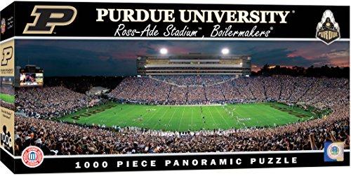 MasterPieces Collegiate Purdue Boilermakers 1000 Piece Stadium Panoramic Jigsaw Puzzle