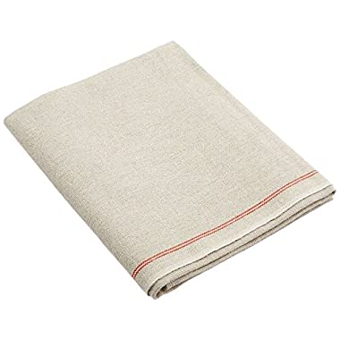 BrotformDotCom Bakers Couche - 100% Pure French Flax Linen Proofing Cloth 26 x 35 Inch