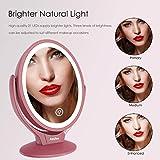 Aesfee LED Lighted Makeup Vanity Mirror