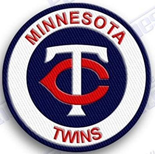 MINNESOTA TWINS IRON ON EMBROIDERED PATCH MLB BASEBALL