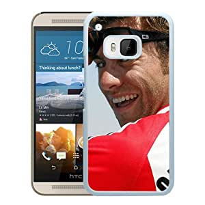 Beautiful Designed Cover Case With Clausi Cowski T shirt Glasses Face Smile (2) For HTC ONE M9 Phone Case