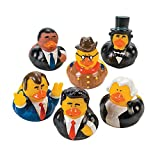 US President Rubber Ducks - 12 pcs