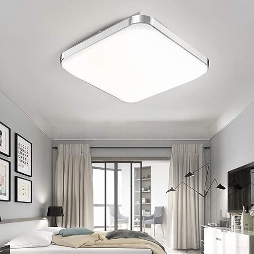 Elegante LED Decken Lampe Wohn Zimmer Beleuchtung Glas Chrom Küchen Leuchte Flur