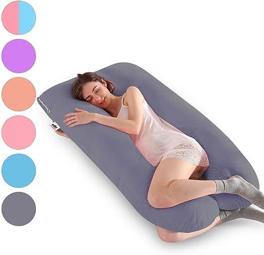 U Shape Oversized Comfort Body full support Pregnancy Maternity Pillow case USA