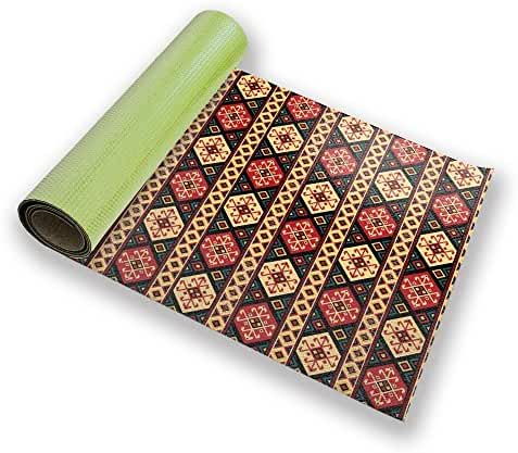 Colorful Kilim Yoga Mat Custom Printed Premium