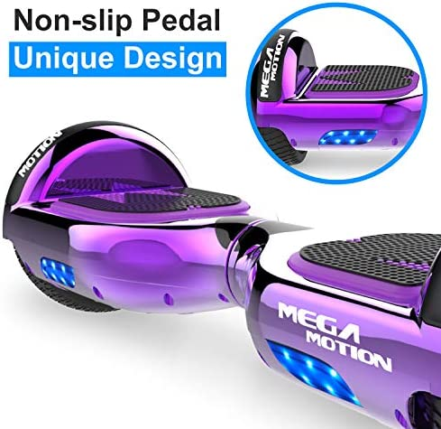 "Mega Motion Self Balance Scooter E1 - Gyropode électrique 6.5"" -Bluetooth"