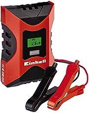 Einhell 1002231 Cargador Bateria CC-BC 6 m con ControlMicro-Processor Voltaje 6/12v Negro, Rojo