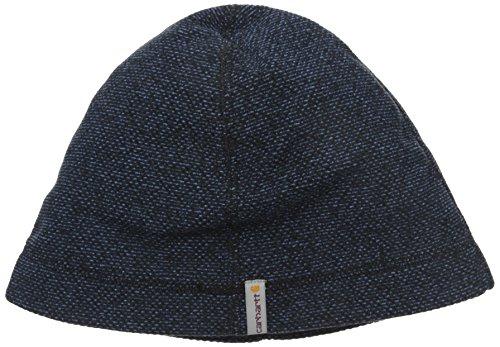 Carhartt Men's Walden Sweater Fleece Knit Hat, Navy, One Size