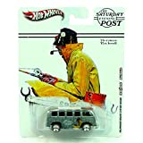 HOT WHEELS * Norman Rockwell * The Saturday Evening Post * Volkswagen Deluxe Station Wagon * VW Bus * Metal/Metal w/ Real Riders * HTF